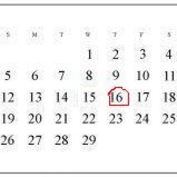 Evenimente in data de 16 Mai