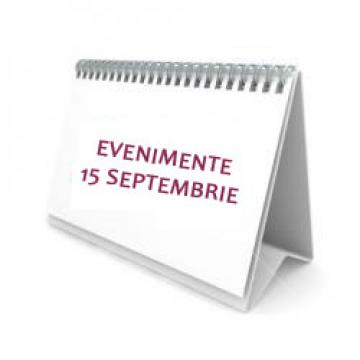Evenimente importante in 15 septembrie