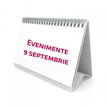 Evenimente in data de 9 septembrie